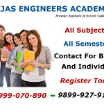 B.Tech tuitions in Delhi Time table 12 Jul 2015