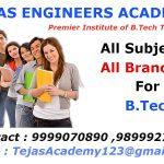 Need of B.Tech tuitions in Delhi