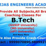 Engineering Tuitions in Delhi for new first year students 2016