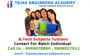 B.tech Tuition Institutes In Delhi