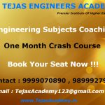 Crash course of B Tech coaching in Delhi
