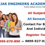 B.Tech Tutorials In Delhi First Semester Subjects