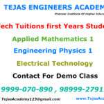 B.Tech tuitions in Delhi for IP University