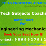 B.Tech tuition in Delhi for Engineering Mechanics