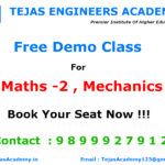 B Tech Tuitions in Delhi For M2 ,Mechanics