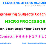 B Tech Tuitions For MICROPROCESSOR SYSTEMS 8086/8085