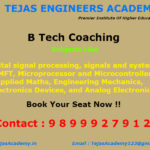 Importantance of joining B.Tech tuition in Delhi