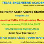 Crash Course of Engineering tuitions in Delhi