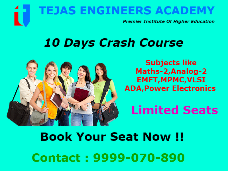 10 days crash course for b tech tuition