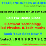 Engineering Tuitions in Delhi for Ist sem