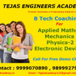 B.Tech coaching and tuitions for Second semester