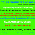 Crash Course for Engineering Subjects Tuitions