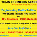 Enginering Tuitions for Maths