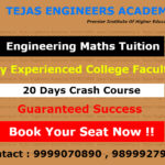 B.Tech maths crash course Engineering tuitions in Delhi