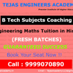Engineering Maths tuitions in Hindi