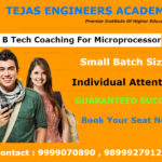 B Tech coaching institute of Microprocessor in Delhi