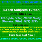 Engineering subject tuitions in Delhi crash course summer