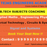 B.Tech subjects tuitions in Delhi