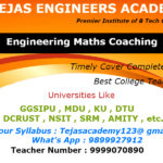 B.Tech Institutes For Engineering Maths