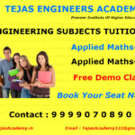 B Tech Coaching For For second year students