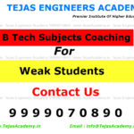 Specialized Batches of B Tech Coaching  in Delhi for Weak Students