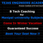 BTech Tuition in Delhi For Manipal university Subjects