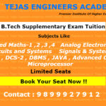 Engineering Tuitions in Delhi for supplementary subjects (Backlog)