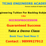 Reappear Engineering Tuitions In Delhi for Microprocessor
