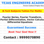 B.Tech tuitions for Maths (Fourier series)