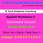 Schedule of classes for this week B Tech Coaching