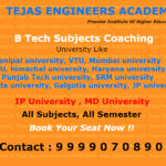 BTech Subjects Coaching in Delhi