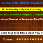 Btech Tuition for IP University Subjects
