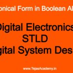 Engineering Tuitions For Canonical Form in Boolean Algebra