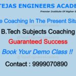 Online B Tech Coaching In The Present Situation